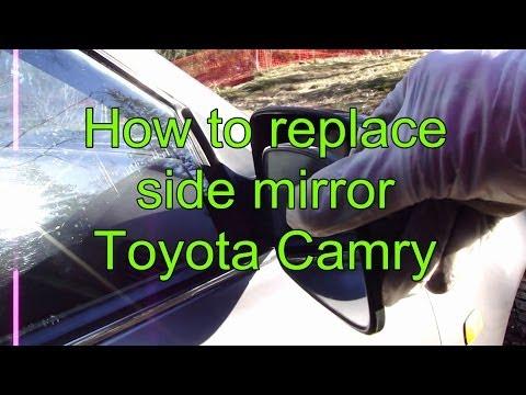 Reset Maintenance Light Toyota Camry 2012 >> how to remove side mirror toyota camry 2012 2013 2014 | Doovi