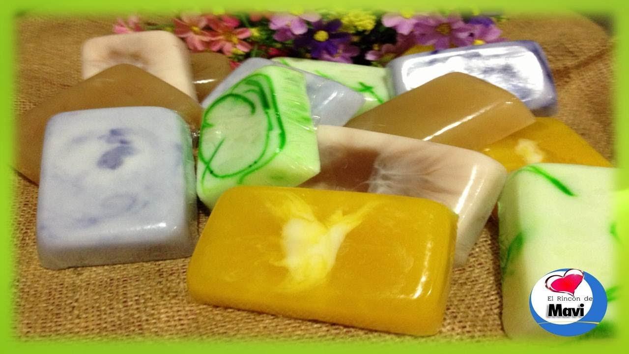 Como hacer jabones artesanales con glicerina cosmetica for Productos decorativos