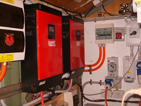 48v IGS Hybrid Inverter. GRID TIE / OFF GRID. Blackout