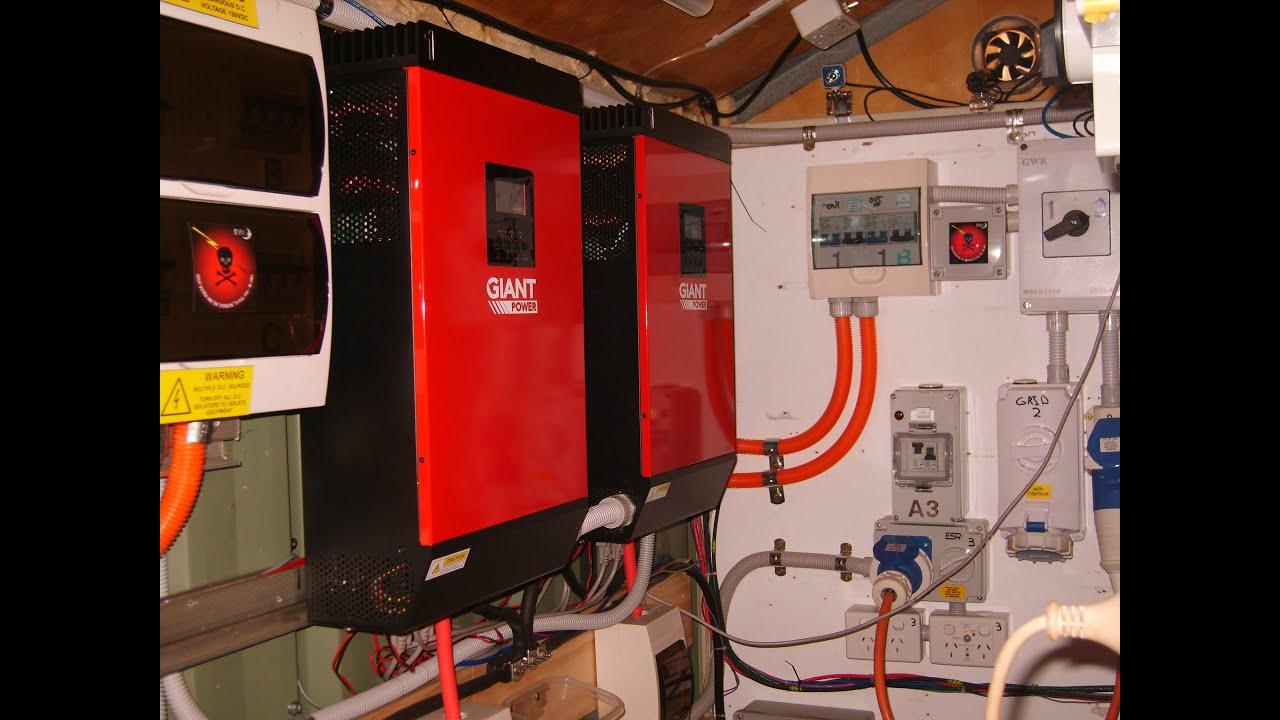 48v Igs Hybrid Inverter Grid Tie Off Grid Blackout