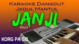 Download lagu JANJI - Rita Sugiarto - Karaoke dangdut, jadul mantul