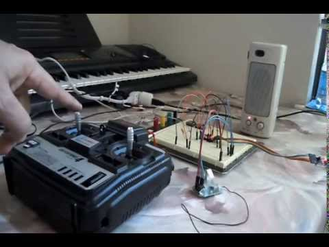 v8 engine sound speaker with arduino doovi. Black Bedroom Furniture Sets. Home Design Ideas