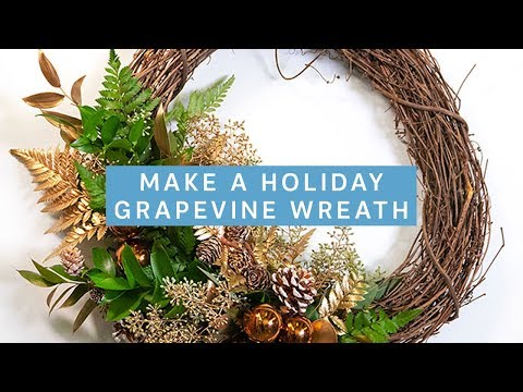 holiday-grapevine-wreath-2-ways!-|-holiday-project-ideas