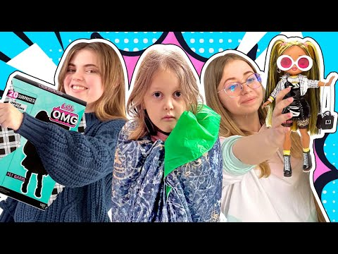 Амельке Скучно! Как девочки Фиона и Оливка будут развлекать ее?
