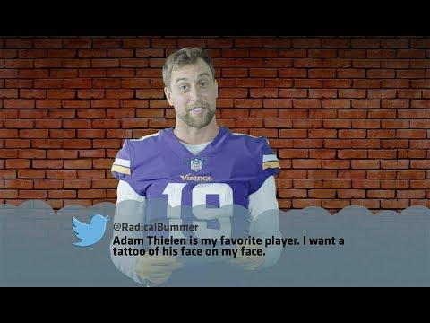 Minnestoa Vikings Players Read 'Minnesota Nice' Tweets