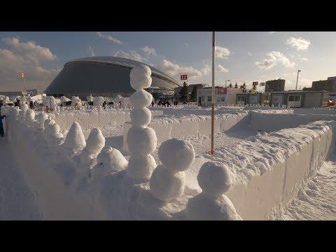【4K】Sapporo Tsu-dome walk
