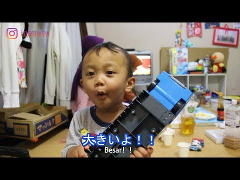 Anak Indonesia lahir di Jepang. Bisa bahasa Jepang kah?