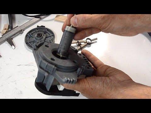 Wet rotor synchronous dishwasher motor