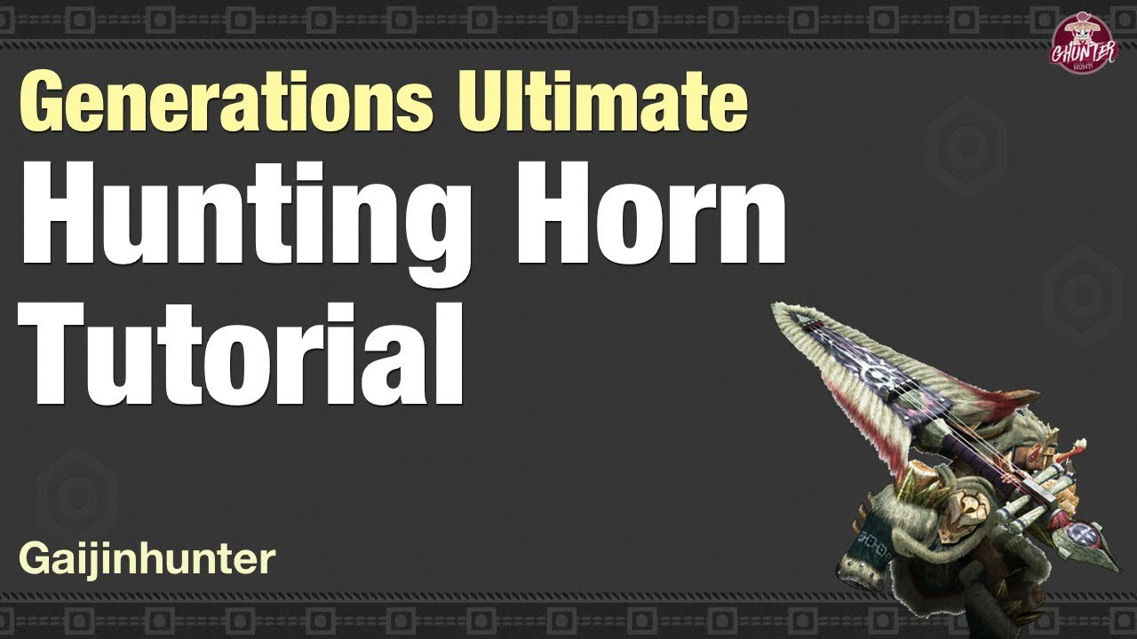 Migui's MHGU Hunting Horn Compendium - GamesToday