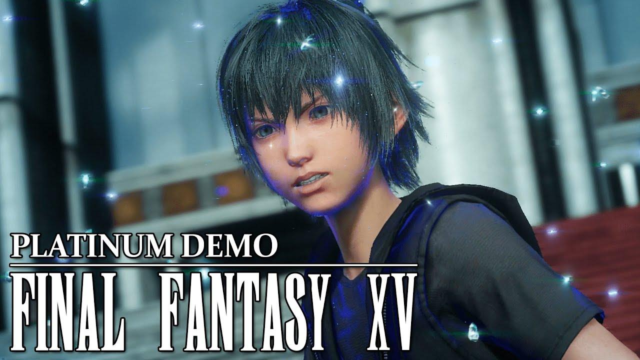Final Fantasy XV Noctis Enfant Platinum Demo