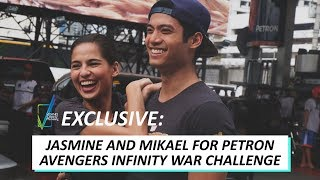 Jasmine Curtis-Smith and Mikael Daez for Petron: Avengers Infinity War Challenge | VCM Exclusive