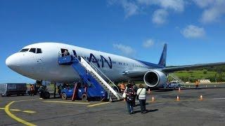 Mataveri Airport in Hanga Roa on Easter Island / Rapa Nui / Isla De Pascua