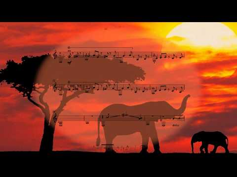 """Guitar Music For Children-Free Sheet Music#M.Doroganich-suite """"The African Stories"""""""