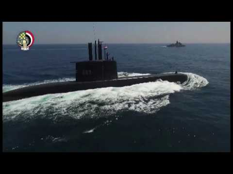 Egyptian Navy receives its first Type 209/1400 submarine