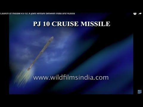 Launch of missile PJ-10: A joint venture between India and Russia