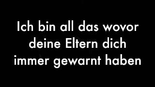 Sido - Schlechtes Vobild (Lyrics On Screen) [HD & HQ]