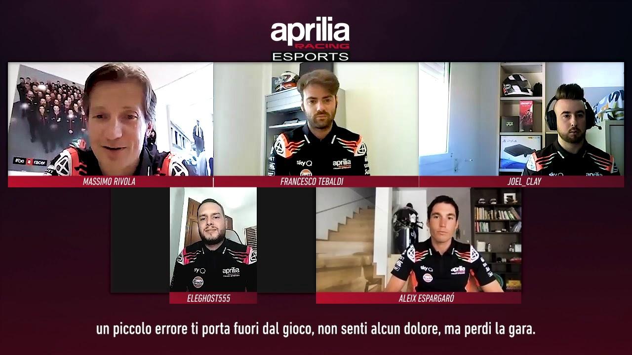 Aprilia Racing eSport 2020 Team Presentation