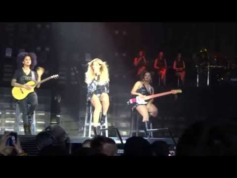 Beyonce - Irreplaceable en Español - THE MRS. CATER WORLD TOUR Barcelona 2014