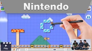 Nintendo Treehouse Live @ E3 2015 Day 1 Super Mario Maker Part 3