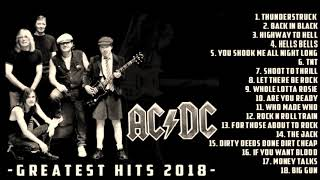 AC DC Greatest Hits    2018   Best Of AC DC