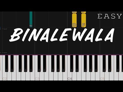 Binalewala - Michael Dutchi Libranda   EASY Piano Tutorial thumbnail
