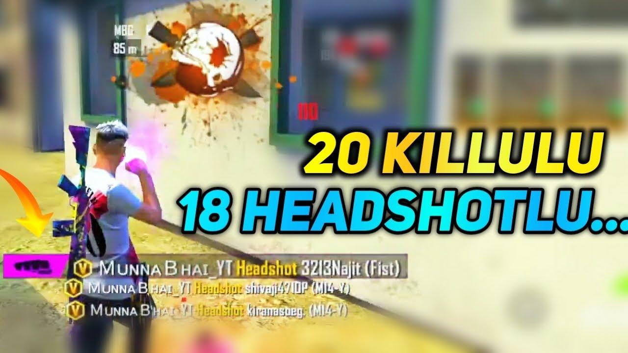 Fist Tho Kuda Headshoteh  Kottali - free fire ki video - Free Fire Telugu - MBG ARMY