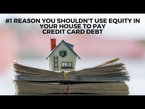 Should i refinance my mortgage to pay off credit cards