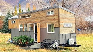 Custom Tiny House On Wheels For A Family Of Four | Lovely Tiny House