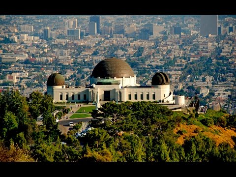 Walking in Griffith Park Observatory 4K