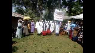 Christian Funeral Ceremony in Luo Land around Lake Victoria, Nyanza