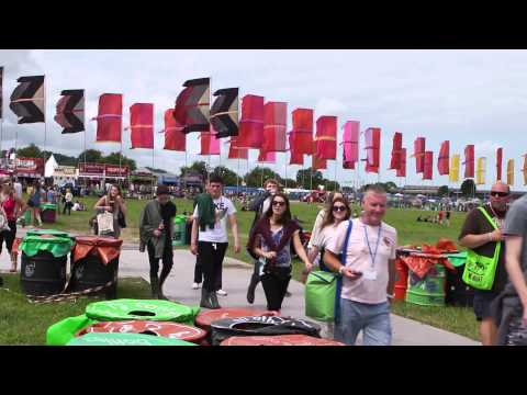 The Jubilee Debt Campaign at Glastonbury 2013