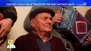 Cantori e dolci della tradizione per Sant'Antonio Abate