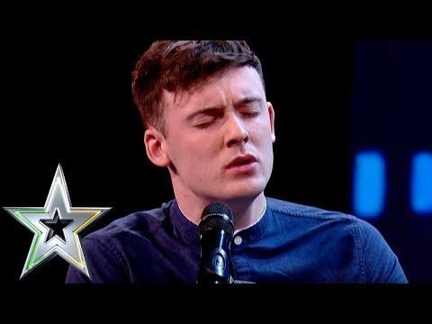 Declan Colgan bowls over judges with incredible voice  Ireland's Got Talent