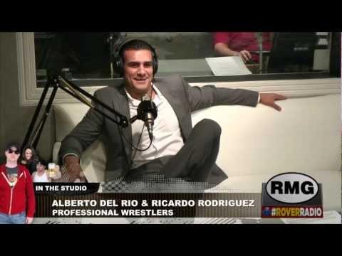 Alberto Del Rio and Ricardo Rodriguez from WWE In Studio