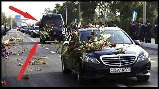 Похороны Президента Узбекистана Ислама Каримова Люди плачут