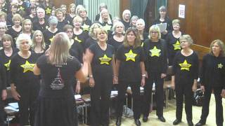 "Rock Choir - Stourport ""Big Sing"" - 22.11.14 - Fall at your Feet"