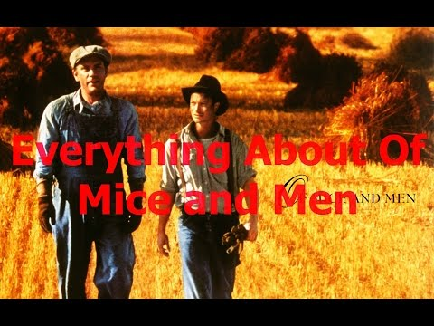 a comparison of characters in of mice and men by john steinbeck