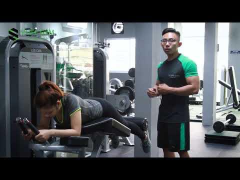 BÀI 4: LYING LEG CURLS - Bài tập giúp săn chắc và cải thiện cơ đùi sau