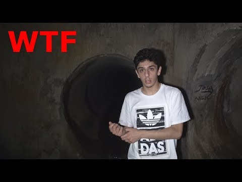 WE MADE IT TO THE END OF THE HAUNTED TUNNEL!! (WTF)