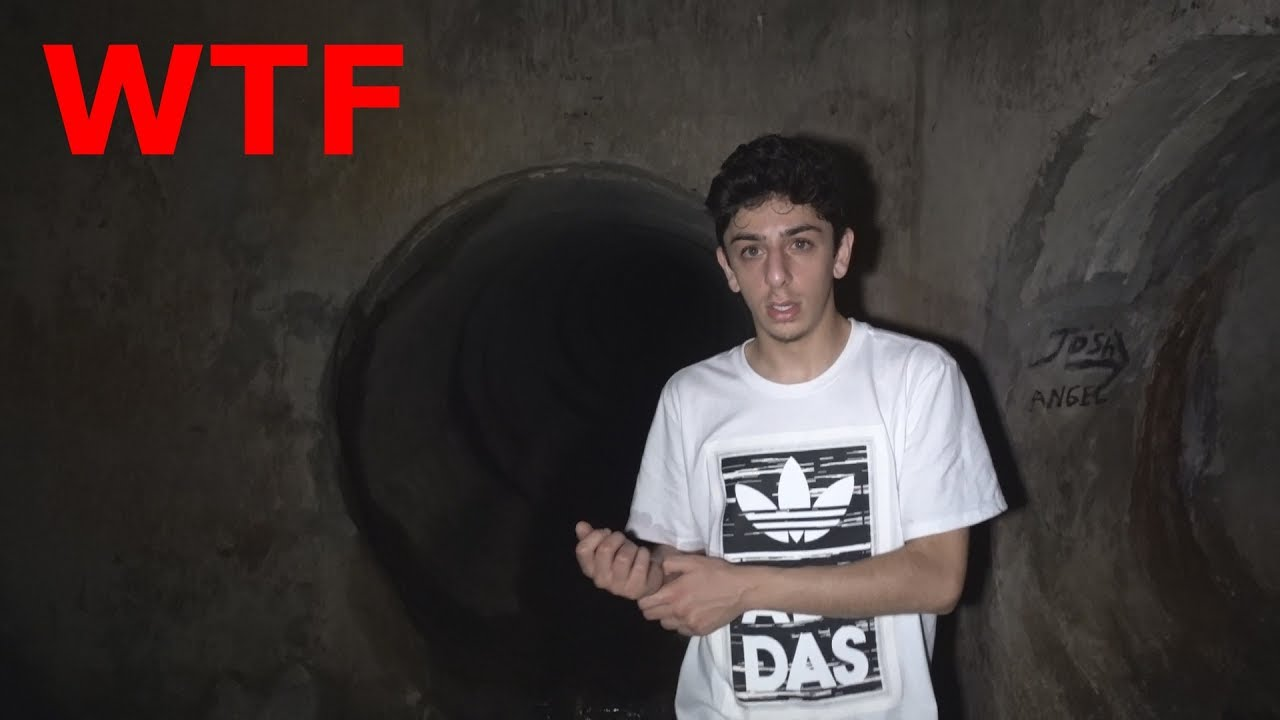 We Made It To The End Of The Haunted Tunnel Wtf Faze
