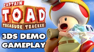Captain Toad Treasure Tracker (3DS) Demo Walkthrough