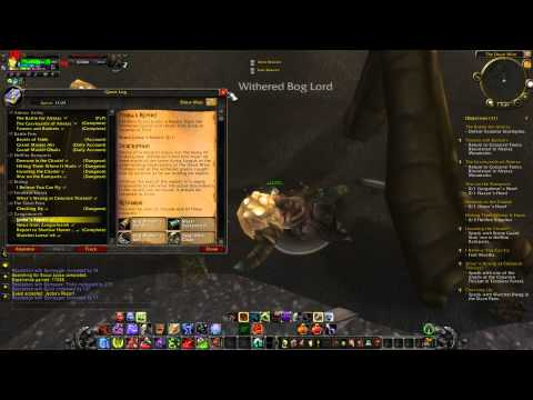 WoW Outland - Searching for scout Jyoba and Jyobas report