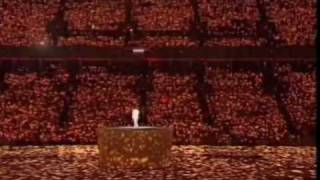 "KD Lang sings ""Hallelujah"" LIVE at the Winter Olympics  2010"