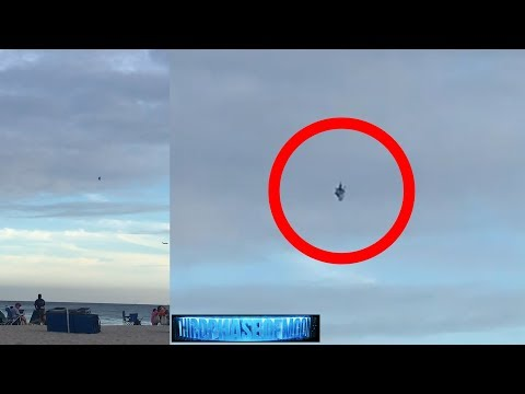 WHAT IS IT? Unexpected Visitor Over Florida! 2018