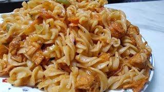 Chicken Tandoori Macaroni | Quick & Delicious Recipe | Chicken Vegetable Tandoori macaroni