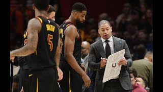 How Ty Lue Runs His Offense - Spread Pick & Rolls