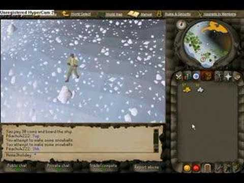 Runescape : Christmas event of 2006 video - part1 - YouTube