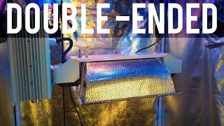 REVIEW: Double-Ended DE HPS Grow Light vs Single-Ended Bulbs for Hydroponics Garden