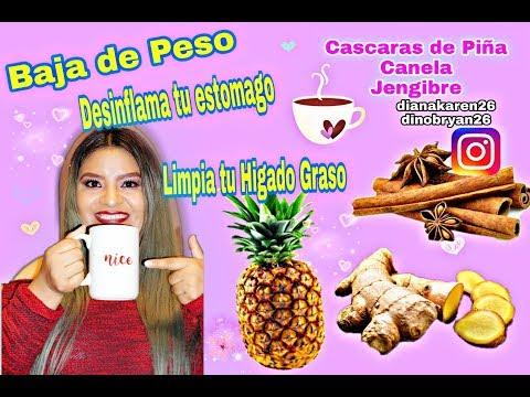 dieta de piña gaolbird anaranjado y jengibre