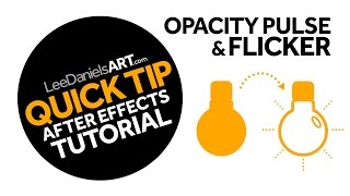 After Effects Tutorial | TIPP | Deckkraft Puls und Flimmern